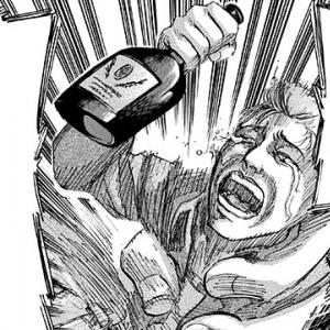 ガジェ通厳選! 進撃の巨人 for auスマートパス『ひとコマ大喜利』:ゲルガーが怒る訳は?