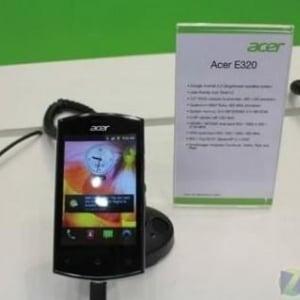 Acerの3.5インチエントリー向けAndroidスマートフォン「E320」がBluetooth認証を通過