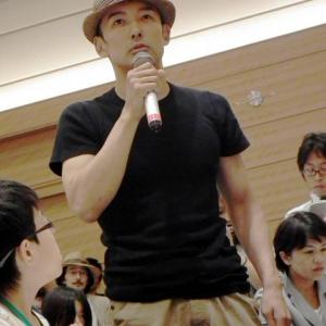 """山本太郎「子どもたちの未来を守って」 """"声を政府に届ける""""集会に出席"""