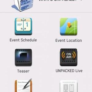 Samsung、9月1日の新製品発表会のライブ映像などを見られるAndroidアプリ「Samsung Mobile Unpacked」を公開、