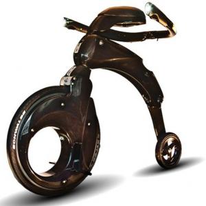 近未来的! ギネス認定 最もコンパクトに折りたためる電動バイク『YIKE BIKE』