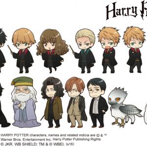 【公式です】世界初『ハリー・ポッター』まで萌えキャラ化させる日本 凄すぎ[オタ女]