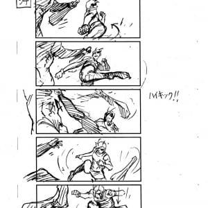 """『テラフォーマーズ』山下智久演じる""""仁""""&ケイン・コスギ演じる""""リー""""の絵コンテを入手!"""