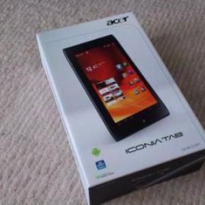 7インチAndroid 3.2搭載タブレット「Acer ICONIA Tab A100」開封の儀