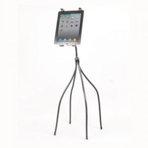 柔軟に動く4本脚で高さや角度調節が可能なタブレット用スタンド「タブレットオクトパススタンド」