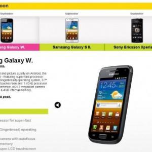 1.4GHzのSnapdragonを搭載した「Galaxy W」、英国では9月に発売