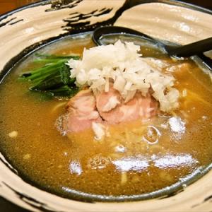甲斐路軍鶏を使った激旨スープのラーメンを食べてみた @『らーめん屋 小川』相模原