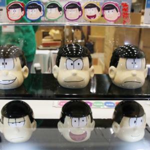 """『おそ松さん』顔型立体マグカップにBE@RBRICK """"もちっとマスコット""""も! 【ワンフェス2016[冬]】[オタ女]"""