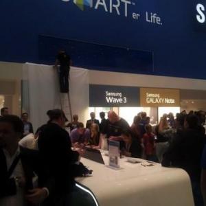 IFA 2011:Samsung、Galaxy Tab 7.7をIFA会場から撤去
