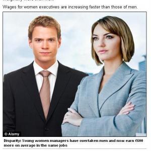 男女の収入差がなくなるまでに100年もかかるらしい