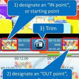 ソニーが動画トリミングアプリ「Video Trimmer」を公開