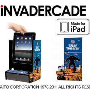 外観そのまま! 『iPad』を『スペースインベーダー』にしちゃうアクセサリー『iNVADERCADE』