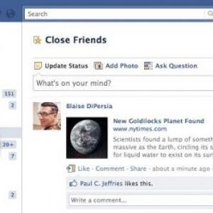 """これは""""Facebook+""""? Facebookが友達を自動的に分類する『スマートリスト』を発表"""
