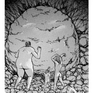 ガジェ通厳選! 進撃の巨人 for auスマートパス『ひとコマ大喜利』:大岩と巨人