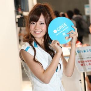 東京ゲームショウ2011のコンパニオン写真 恒例の整列画像もあるよ