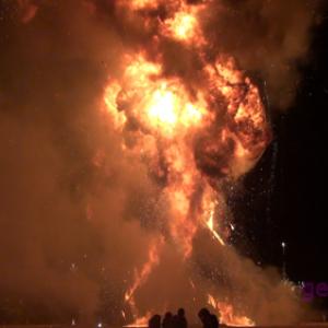 40m以上の火柱 これが『BurningMan』だ!!