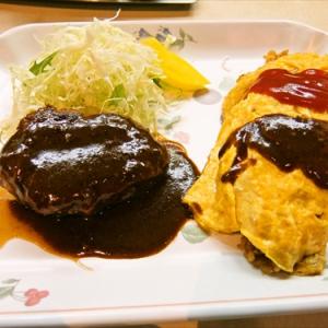 松阪牛を使ったハンバーグ&オムライスが1000円ナウ @『れすとらん はと屋』銀座