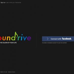 Facebookの写真から音と映像を生成するアプリ『SUBARU SOUNDRIVE』で遊んでみた