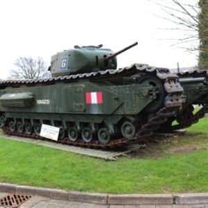 【画像多数】ガルパン戦車も大集合! イギリスの『タンク・ミュージアム』に行ってきた・前編