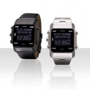ケータイメールが読める腕時計『アイバートM』、シチズン時計から2モデル発売