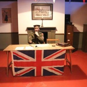 戦車の後はフィッシュ&チップスとビネガーで! イギリス戦車博物館・番外編