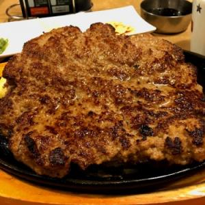 重量600グラム! ステーキのどん期間限定『3代目横綱ハンバーグ』に無謀にも少食な男が挑んできた!