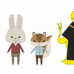 映画『暗殺教室』×『紙兎ロペ』3月22日放送! 二宮和也&山田涼介がゲスト出演[オタ女]