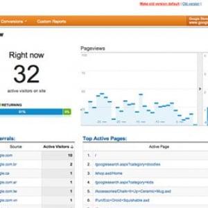 サイトの今がすぐわかる 『Google Analystics』リアルタイムでデータ表示可能に