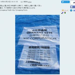 """建設会社の""""日揮""""が花見のため横浜の公園を5日間ほぼ占拠しようとして騒動に"""