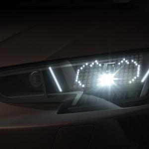 [PR]この発想はなかった! アウディが顔文字ヘッドライトを開発 ヘッドライトでドライバーとの交流が可能に\(^o^)/