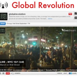 すごい熱気! 700名以上の逮捕者が出たウォールストリート占拠運動のネット生中継&動画