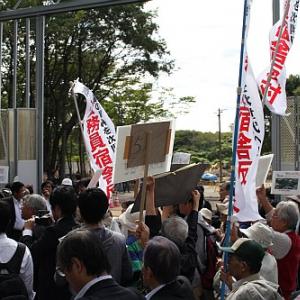 わずか15分の野田首相「朝霞宿舎視察」リポート――「凍結」ではなく「中止」をという地元の声届かず