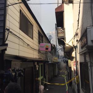 【速報】新宿ゴールデン街で火災発生