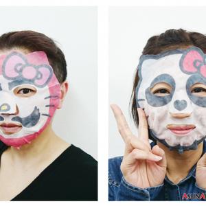キティのなりきりフェイスパックに新デザイン だるま・忍者・ロボ……キャラ要素は!?[オタ女]