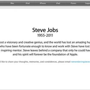 スティーブ・ジョブズ氏死去 アップルからのコメント