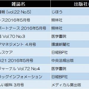 【看護・医学・医療】今週の雑誌ランキングトップ10!
