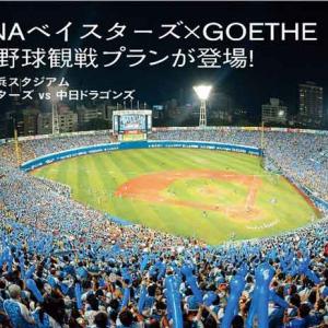 『GOETHE』の1試合80万円「1組限定の超豪華野球観戦」プラン