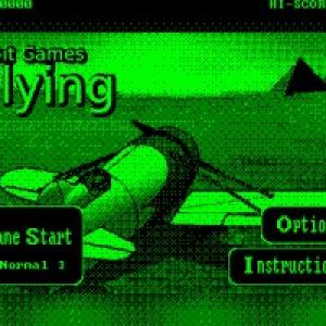 【日曜版】70年代のテイストを手元に!8bit Games – Flying!【iPhone】