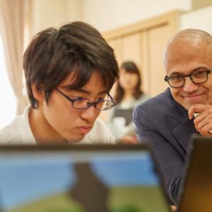マイクロソフトCEOが日本の中学校参観だと!? 『Minecraft: Education Edition ベータプログラム』が実施