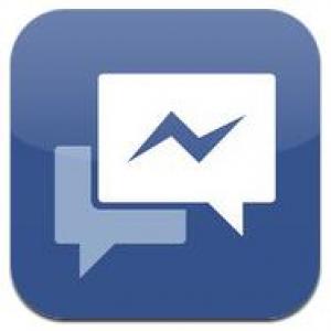 【アプリ】FacebookがiPhoneでメッセージのやりとりができるアプリ『Facebook メッセンジャー』を公開
