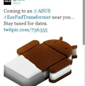 ASUS、初代TransformerのAndroid 4.0(Ice Cream Sandwich)バージョンアップを発表