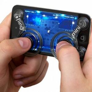 ゲーム操作が快適に! 『iPhone/iPod touch』用アナログスティックコントローラー『Fling mini』発売