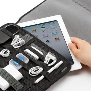 『iPad』と一緒にアクセサリー類を整理して持ち運べるケース Cocoon『Wrap 10』