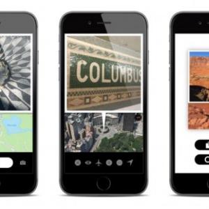 自分のいる場所の地図が写真の中に! とってもシンプルなカメラアプリ『WHERE』