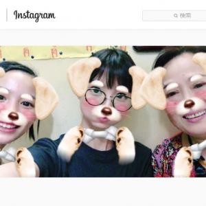 篠田麻里子さんの『Instagram』に能年玲奈さんが登場し大反響