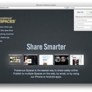 iPhoneだけで更新するミニブログ Posterous のススメ
