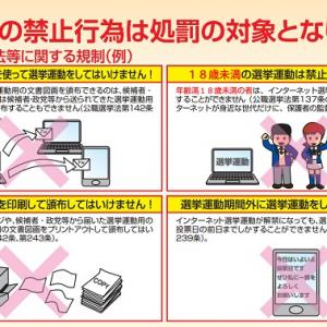 選挙投票日のネット投稿に注意! 公開するなら『投票済証明書』