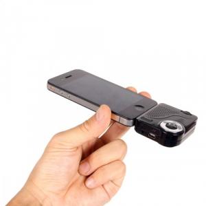 わずか32g! 『iPhone/iPad』のDockコネクタに接続できるミニプロジェクター