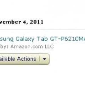 Galaxy Tab 7.0 Plus(GT-P6210)が米国で発売