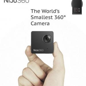 とっても安いのに360度動画撮影可能! 無線LAN対応・ライブ・ストリーミング可能な防水型全方位アクションカメラ『Nico360』